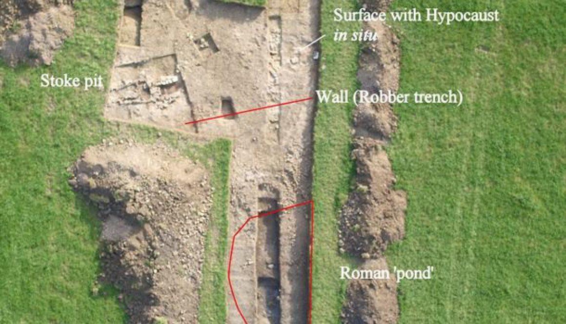 ULAS Hallaton Archaeological Dig
